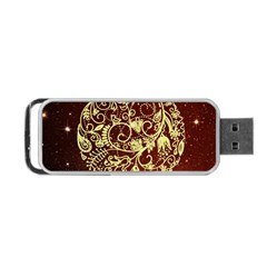 Christmas Bauble Portable USB Flash (Two Sides)