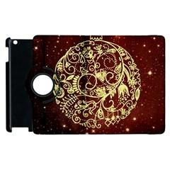 Christmas Bauble Apple iPad 3/4 Flip 360 Case