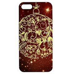 Christmas Bauble Apple iPhone 5 Hardshell Case with Stand