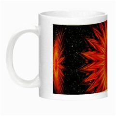 Christmas Card Ball Night Luminous Mugs