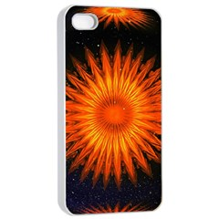Christmas Card Ball Apple Iphone 4/4s Seamless Case (white)