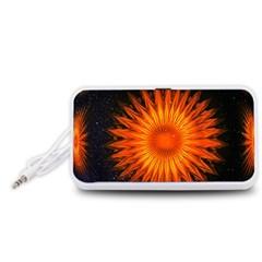 Christmas Card Ball Portable Speaker (white)