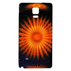 Christmas Card Ball Galaxy Note 4 Back Case