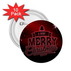 Christmas Contemplative 2 25  Buttons (10 Pack)