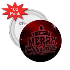 Christmas Contemplative 2.25  Buttons (100 pack)