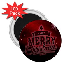 Christmas Contemplative 2.25  Magnets (100 pack)