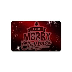 Christmas Contemplative Magnet (name Card)