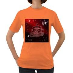 Christmas Contemplative Women s Dark T-Shirt