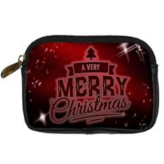 Christmas Contemplative Digital Camera Cases