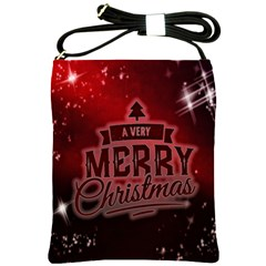 Christmas Contemplative Shoulder Sling Bags