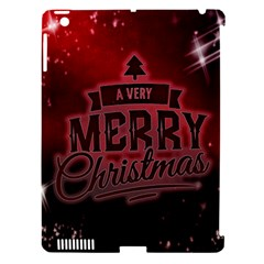 Christmas Contemplative Apple Ipad 3/4 Hardshell Case (compatible With Smart Cover)