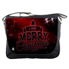 Christmas Contemplative Messenger Bags