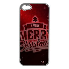 Christmas Contemplative Apple Iphone 5 Case (silver)