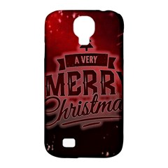 Christmas Contemplative Samsung Galaxy S4 Classic Hardshell Case (PC+Silicone)