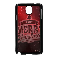 Christmas Contemplative Samsung Galaxy Note 3 Neo Hardshell Case (Black)