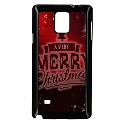 Christmas Contemplative Samsung Galaxy Note 4 Case (black)