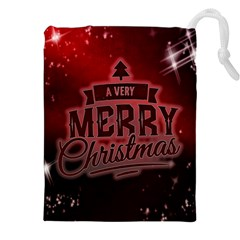 Christmas Contemplative Drawstring Pouches (XXL)