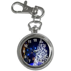 Christmas Card Christmas Atmosphere Key Chain Watches