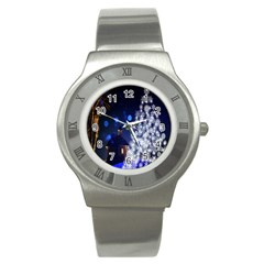 Christmas Card Christmas Atmosphere Stainless Steel Watch