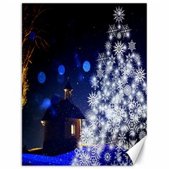 Christmas Card Christmas Atmosphere Canvas 18  x 24