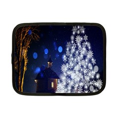 Christmas Card Christmas Atmosphere Netbook Case (Small)