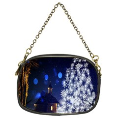 Christmas Card Christmas Atmosphere Chain Purses (One Side)