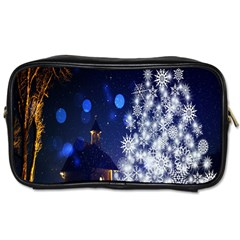Christmas Card Christmas Atmosphere Toiletries Bags 2-Side