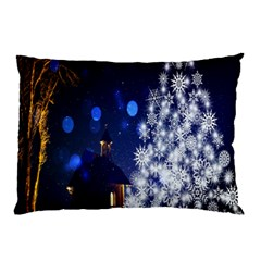 Christmas Card Christmas Atmosphere Pillow Case (Two Sides)