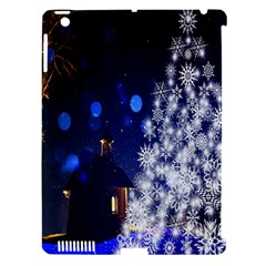Christmas Card Christmas Atmosphere Apple Ipad 3/4 Hardshell Case (compatible With Smart Cover)