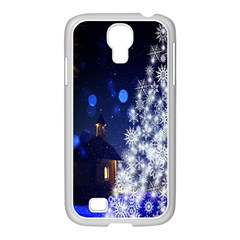 Christmas Card Christmas Atmosphere Samsung Galaxy S4 I9500/ I9505 Case (white)
