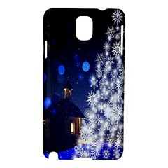 Christmas Card Christmas Atmosphere Samsung Galaxy Note 3 N9005 Hardshell Case