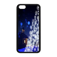 Christmas Card Christmas Atmosphere Apple iPhone 5C Seamless Case (Black)