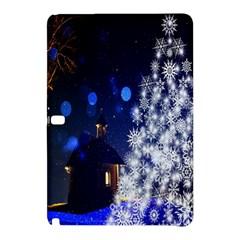 Christmas Card Christmas Atmosphere Samsung Galaxy Tab Pro 10.1 Hardshell Case