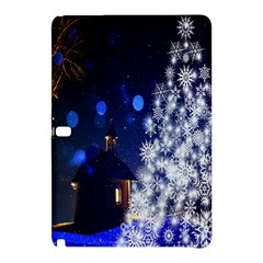Christmas Card Christmas Atmosphere Samsung Galaxy Tab Pro 12 2 Hardshell Case