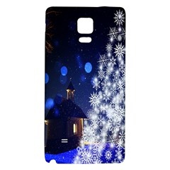 Christmas Card Christmas Atmosphere Galaxy Note 4 Back Case
