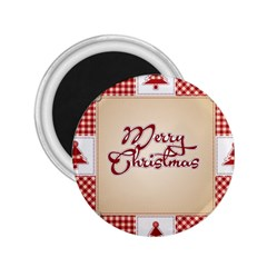 Christmas xmas Patterns Pattern 2.25  Magnets