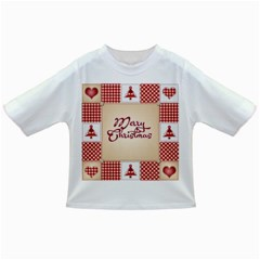 Christmas xmas Patterns Pattern Infant/Toddler T-Shirts