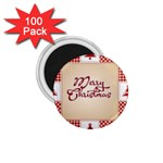Christmas xmas Patterns Pattern 1.75  Magnets (100 pack)  Front