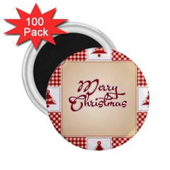 Christmas xmas Patterns Pattern 2.25  Magnets (100 pack)