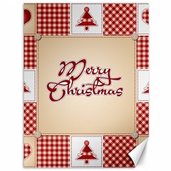 Christmas xmas Patterns Pattern Canvas 36  x 48