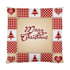 Christmas xmas Patterns Pattern Standard Cushion Case (Two Sides)