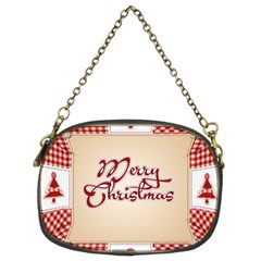 Christmas xmas Patterns Pattern Chain Purses (Two Sides)