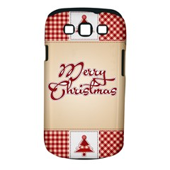Christmas xmas Patterns Pattern Samsung Galaxy S III Classic Hardshell Case (PC+Silicone)