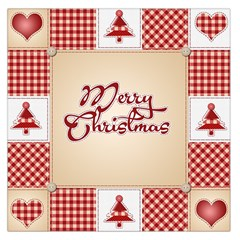 Christmas Xmas Patterns Pattern Large Satin Scarf (square)