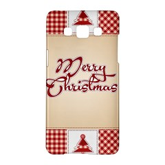 Christmas Xmas Patterns Pattern Samsung Galaxy A5 Hardshell Case