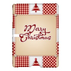 Christmas Xmas Patterns Pattern Samsung Galaxy Tab S (10 5 ) Hardshell Case