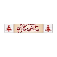 Christmas xmas Patterns Pattern Flano Scarf (Mini)