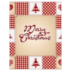 Christmas Xmas Patterns Pattern Drawstring Bag (large)