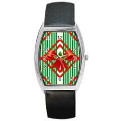 Christmas Gift Wrap Decoration Red Barrel Style Metal Watch