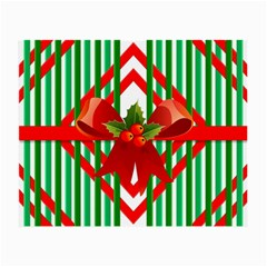 Christmas Gift Wrap Decoration Red Small Glasses Cloth (2-Side)